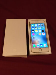 UNLOCKED Iphone 6 64 gb Gold WITH WARRANTY + NEW ACCESSORIES