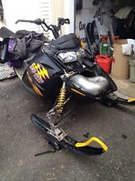 Parting out 600SDI Ski Doo