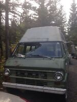 71 ford e200 camper top van
