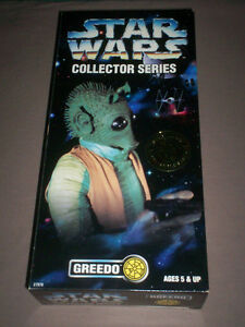 STAR WARS COLLECTOR SERIES 12 inch GREEDO MIB KENNER 1996