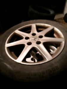 "16"" 5x114.3 alloy rims"