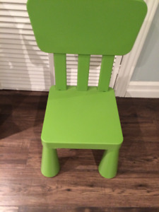 Kids' Table & 2 Chairs
