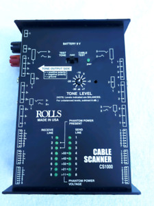 Rolls Audio Cable Tester