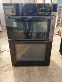 Neff U15M42S0GB double electric oven built in 60cm