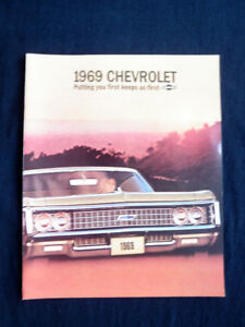 1969 Chevrolet Sales Brochure