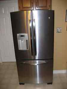 GE Profile French Door 22 cu ft Stainless Steel Refrigerator