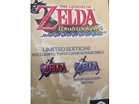 Legend of Zelda the Wind Wakering limited edition gamecube