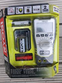 Ryobi tek4 digital multimeter