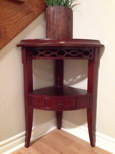 Cherry Bombay Company Corner unit furniture piece