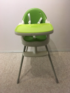3-in-One Baby High Chair/Low Chair/Booster Chair