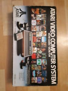 Atari 2600 CIB with 4 games