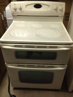 Maytag 3 piece set - biscuit color - used