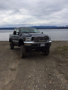 lifted 2000 diesel Ford F-350 Pickup Truck