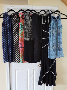 Large lot of dresses in immaculate condition some with tags