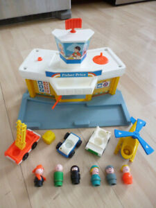 Fisher Price vintage aéroport / airport