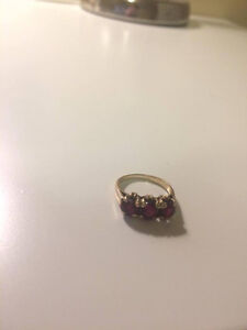 Ruby and gold ring London Ontario image 2
