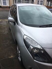 Renault scenic 11 plate