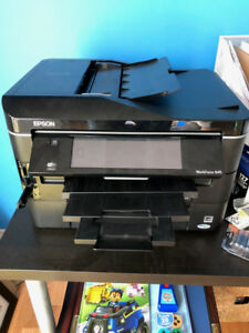 Epson Workforce 845 Colour All In One Printer / Scanner / Fax