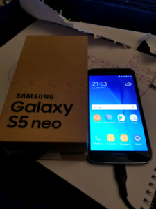 galaxy s5 Neo ,16go   videotron   comme neuf