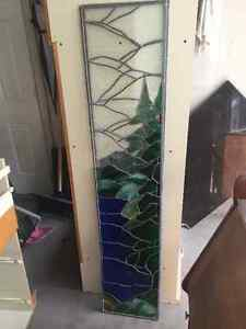 2 stained glass