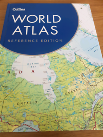 Collins World Atlas Reference addition.