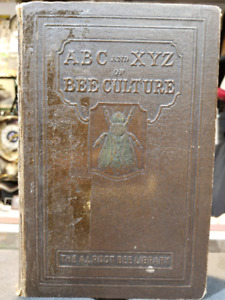 ABC and XYZ Of Bee Culture Book ...A.I. Root   RARE 1923