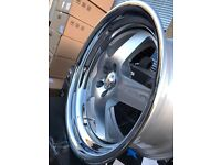 "18"" Klutch 5x112 audi Seat Skoda vw Volkswagen alloy wheels alloys rims tyre tyres"