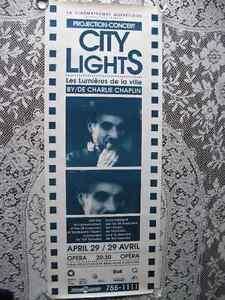 Affiche Charlie Chaplin ( cinematheque ) Gatineau Ottawa / Gatineau Area image 1