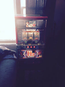 CASINO SLOT MACHINE 300 TOKENS KEYS INSTRUCTIONS ALL WORKING