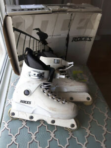 Roces Aggressive Inline Skates Freestyle Rollerblades US Size 8