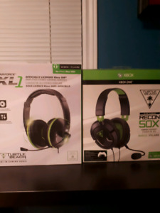 Turtle Beach XL1 and Turtle Beach Recon 50X Headsets