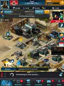 Mobile strike acct 522 mil power
