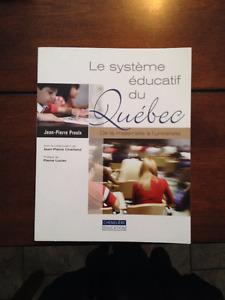 Le système éducatif du Québec, De la maternelle à l'université