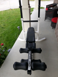Weight and workout bench