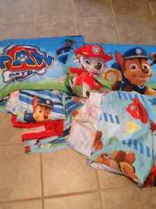 Paw patrol double sheets
