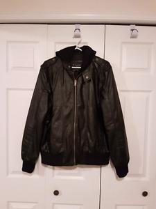 Guess Faux leather Jacket, Men's M