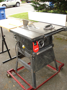 10in Table Saw Professional Rockwell-Beaver/10in. Banc de Scie
