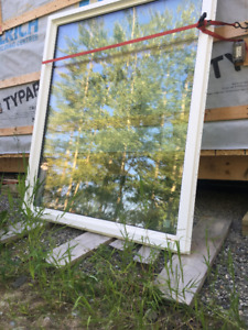 Brand new large triple pane picture window