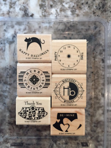 STAMP Awesome Gift Tags/Cards Now using PARTY PUNCH