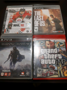 Playstation 3 (PS3) Games for $5 each!
