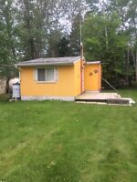 Free cabin at ditch lake.  You a responsible to move it.