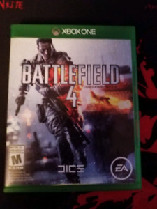 Battlefield 4 and Halo 5 guardians XBOX ONE
