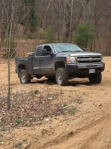 Lifted Chevy Silverado 1500