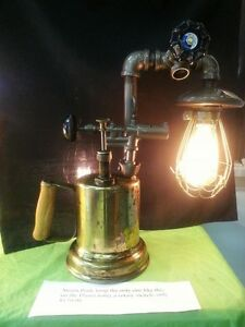 steam punk lamp