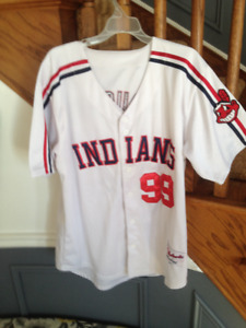 Authentic Wild Thing, Ricky Vaughn Jersey-Major League