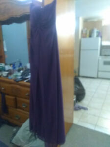 Size 4 purple bridesmaid's/Prom dress