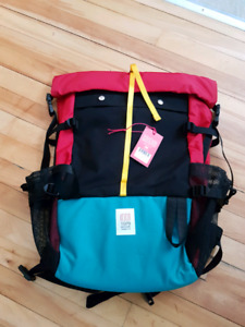 Topo Designs Roll Top Backpack