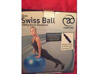 Swiss ball brand new unopened