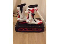 Mortor Bike Boots - Alpinestars SMX Plus Motorbike Boots