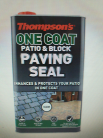 Thompsons one coat paving seal